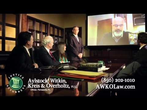 Brad Bradford –  AWKO Law – Personal Injury   Pensacola, Florida