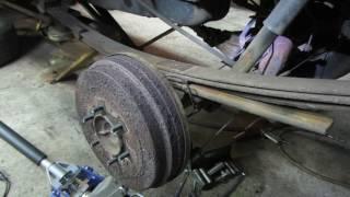 Baixar replacing  a single broken leaf spring on the car/truck