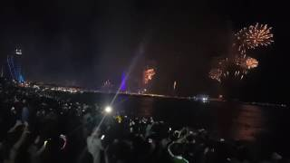 burj al arab dubai fire works 2017