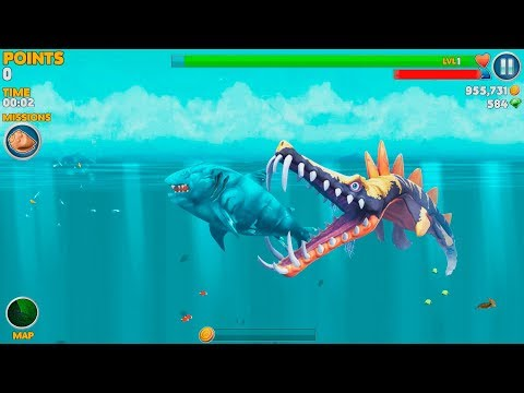 Hungry Shark Evolution Ice Shark Android Gameplay #42