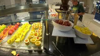 2019 Hotel Riu Palace Punta Cana, Restaurant Buffet Tour - All Inclusive Resort - Dominican Republic