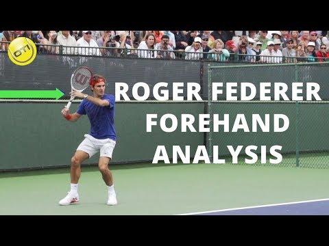 Roger Federer Forehand Analysis Part 1