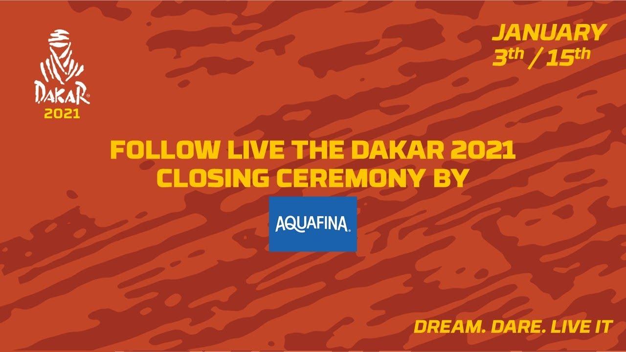 #Dakar2021 - Closing ceremony presented by Aquafina