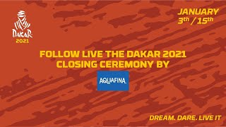 #Dakar2021 - Closing ceremony presented by Aquafina