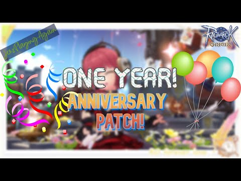 Ragnarok Origin One Year Anniversary Maintenance Patch Notes! RO Origin Patch Notes Guide!