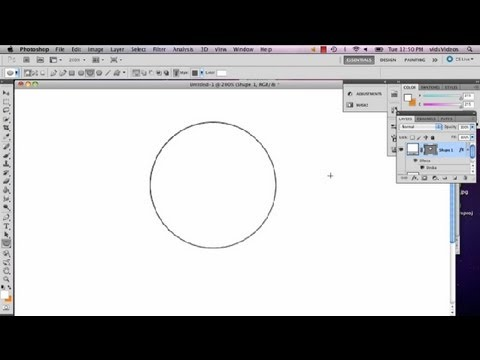 How To Draw A Circle With A Brush In Photoshop