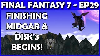 Let's Play Final Fantasy 7 LIVE - Behemoth Horn time! - Part 29