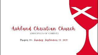 Worship September 12, 2021