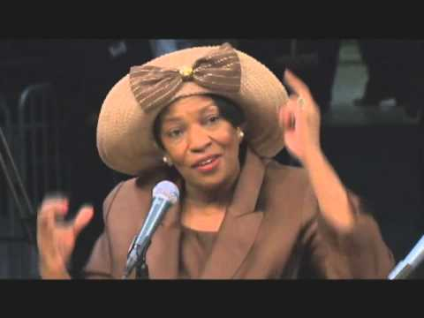 Dorothy Tillman (Fmr Chicago Alderman) - 2010 CSPAN Forum - We Count!