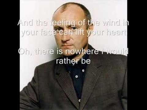 Phil Collins - On My Way (With Lyrics)