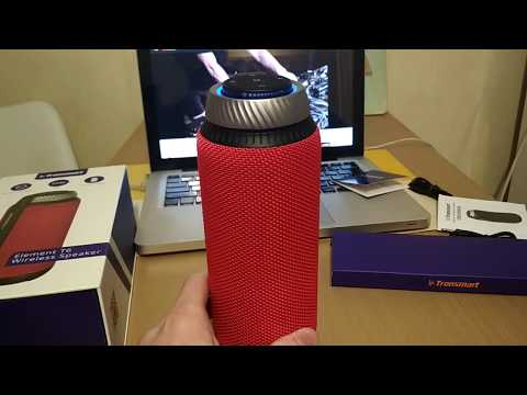 Акустическая система Tronsmart Element T6 Portable Bluetooth Speaker Black (FSH55581) + Чехол для акустики Tronsmart Element T6 Carrying Case Black (71286) в подарок!