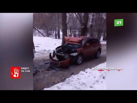 Большегруз и ГАЗель раскидало как кегли  Массовая авария на трассе Челябинск   Уфа