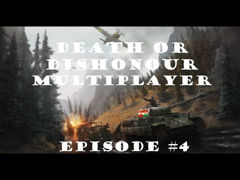 HOI 4 Multiplayer: Death Or Dishonour Episode 4 - Friendship