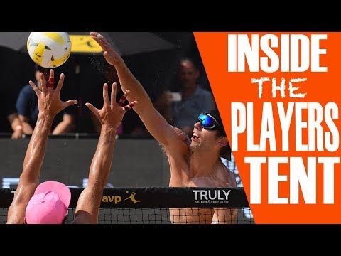 What Happens in the Players Tent | AVP Austin 2018