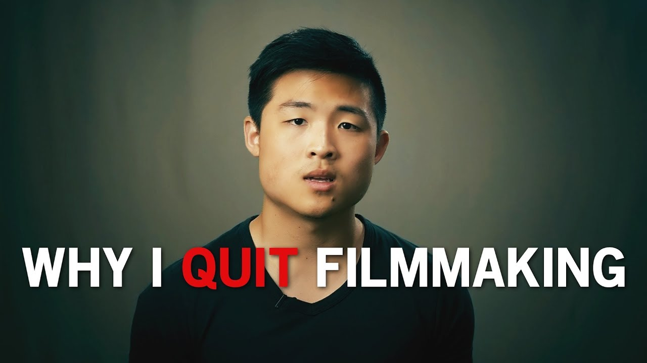 Why I quit filmmaking