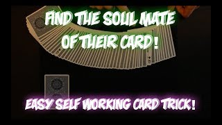Matchmaker: INSANE SELF WORKING CARD TRICK! Performance And Tutorial!