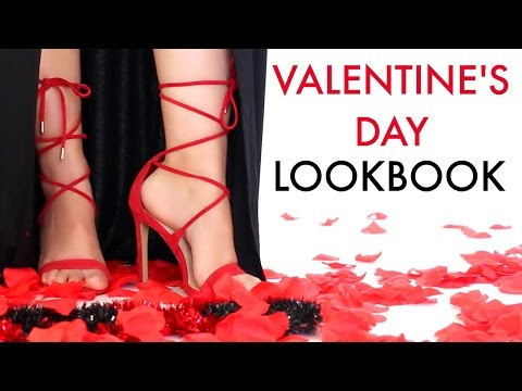 Valentine's Day LookBook/Ideas 2016| BeautyyBird
