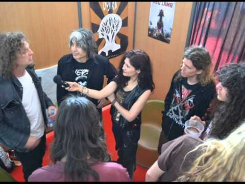 INTERVIEW FEATURING VOIVOD & VEKTOR, HELLFEST 2013 by Nelly's Melody