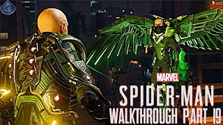 Spider-Man PS4 Walkthrough Part 19 - Vulture and Electro Boss Fight!