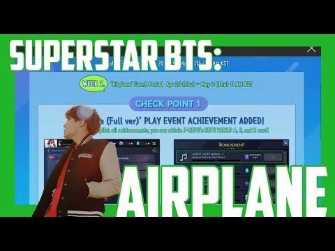 SuperStar BTS: Hope World Event - Airplane