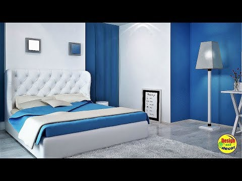 Beautiful modern bedrooms. Design and decor.