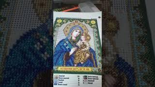 Обзор иконы Богородицы Неувядаемый цвет