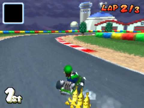 mario kart ds gba luigi circuit youtube. Black Bedroom Furniture Sets. Home Design Ideas