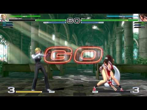Yuri/King/Mai vs Benimaru/Iori/King