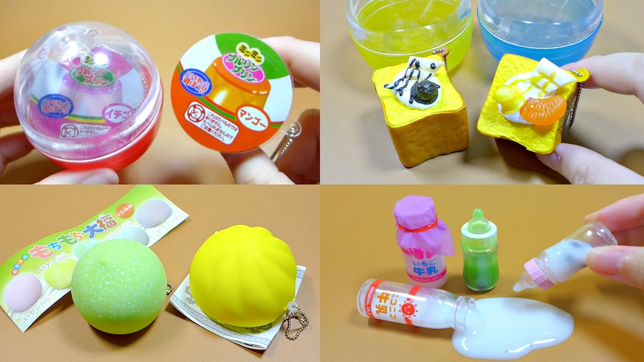 Capsule Toy Squishy Slime Squeeze Toy Compilation ASMR - YouTube