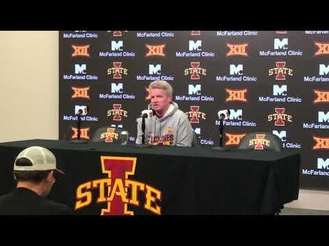 Dave Sprau - VIDEO: ISU WBB Coach Bill Fennelly, G Ashley Joens, F Meredith Burkhall