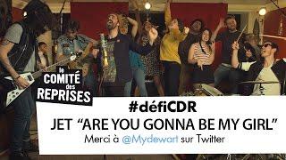 """9e épisode du #défiCDR relevé avec la reprise du titre """"Are you gonna be my girl ?"""" de Jet, dans une version totalement revisitée, pleine d'humour et en VF ..."""