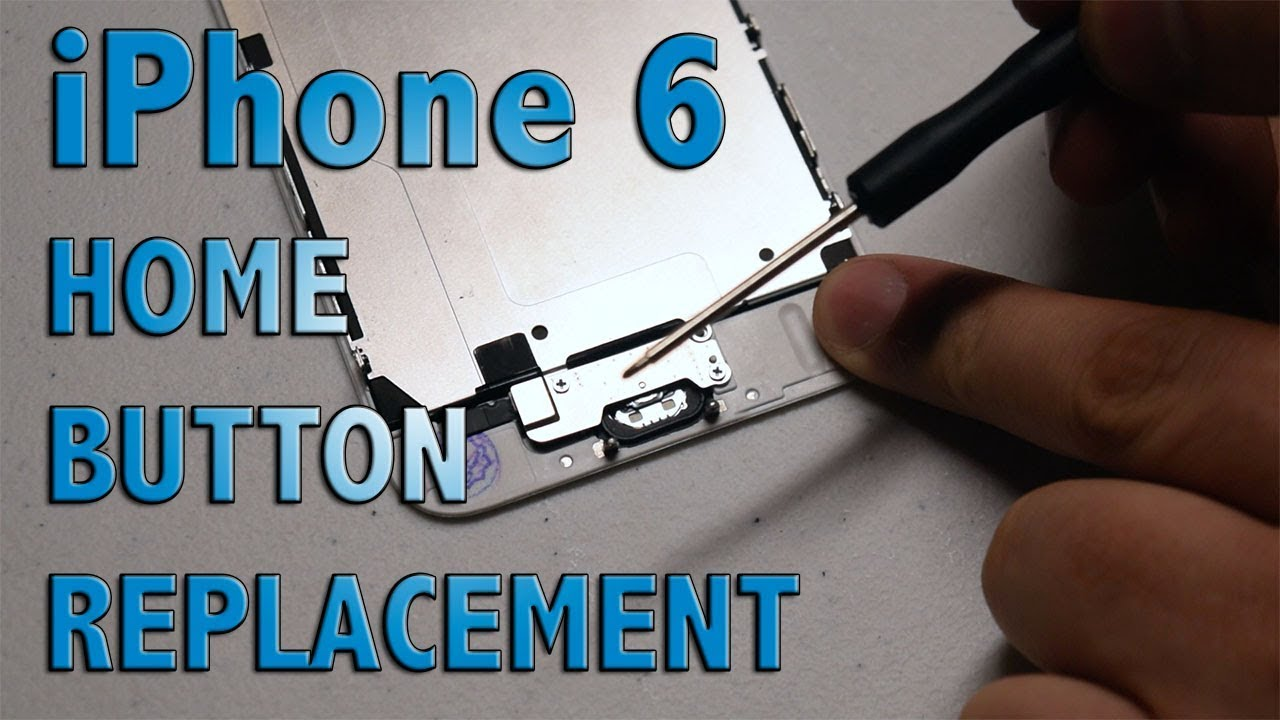 buy online 3d1f9 da1e7 iPhone 6 home button replacement