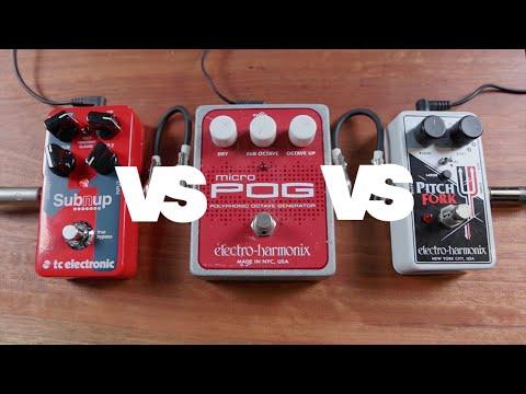SubNup vs POG vs Pitchfork on Bass & Guitar