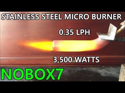 Mini Elbow burner waste oil burner ( SIPHON NOZZLE )