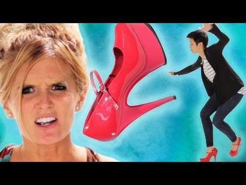 Women Wear Stilettos For The First Time Mp3