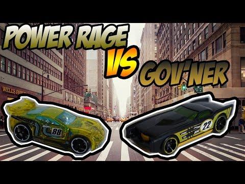 Hot Wheels Duel - Me VS Dad: Power Rage vs Gov'ner