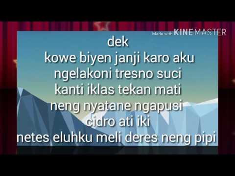 Lirik lagu Ndx aka Kelingan Mantan 2