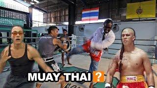 How to do the Muay Thai: Wilbur Sargunaraj feat: JCVD