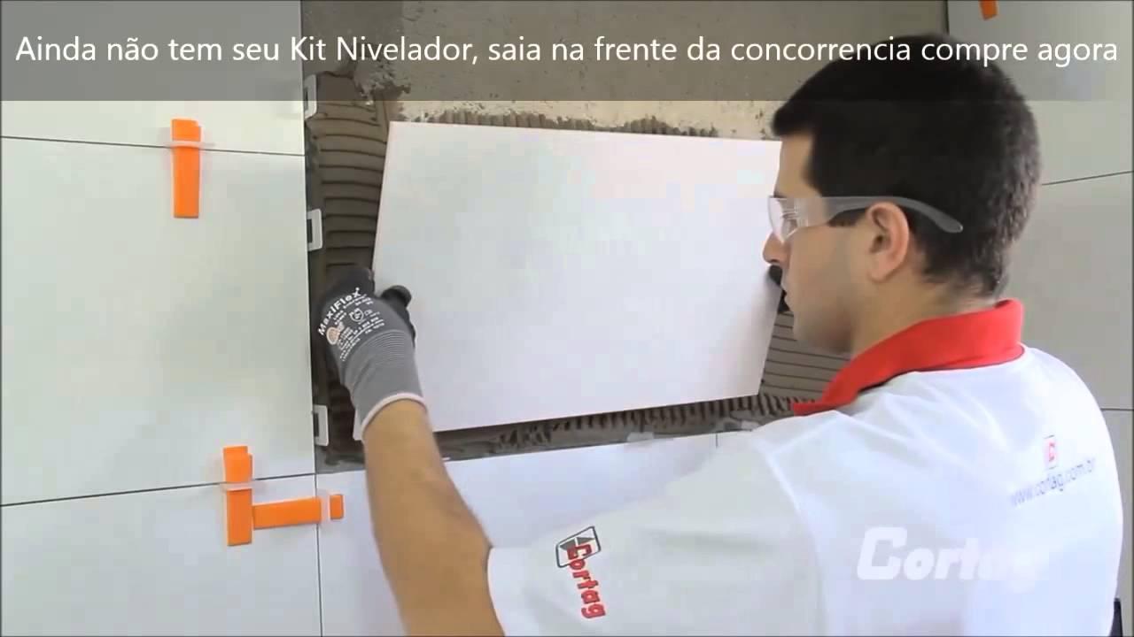 Kit Nivelador De Pisos E Porcelanatos Cortag Voce Encontra