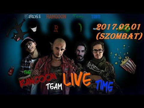 Bejelentő videó + Fontos információk  * Rangoon Team Live Time #2 *
