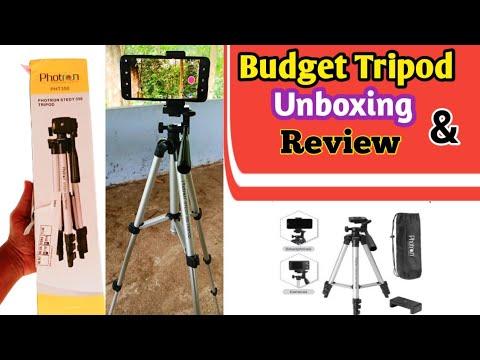 Photron Stedy 350 Tripod Unboxing & Review Malayalam    Budget Tripod   V4 TECH