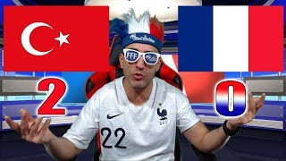 TURQUIE 2-0 FRANCE - WECH ? / Azéd Stories