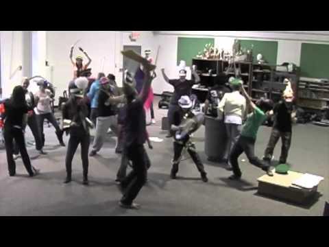 North Stokes High School Band Harlem Shake