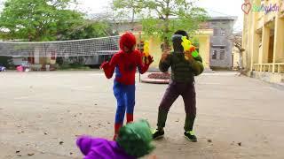 Spider baby vs hulk baby troll joker