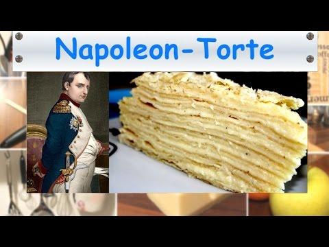 Russisch napoleon kuchen