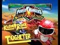 Kleine Runde Together Power Rangers Super Legends (PS2)