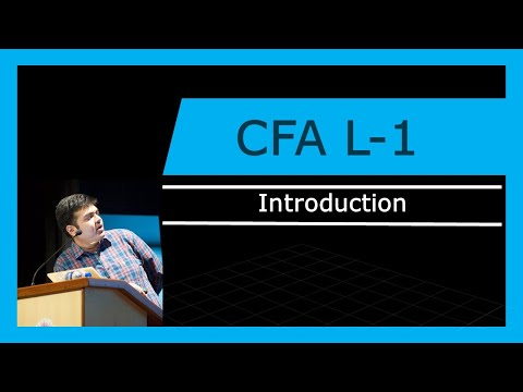 CFA Level -1 | Introduction | 2018