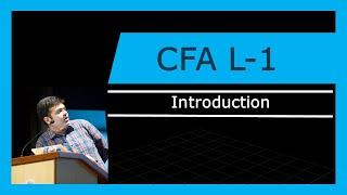 CFA Level -1 | Introduction | 2018