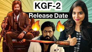 KGF Chapter 2 Release Date Announcement REACTION | Deeksha Sharma