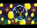 Angry Birds - 3 X GOLDEN EGG INVISIBLE EGG IN SHORTFUSE REVERSE GRAVITY!